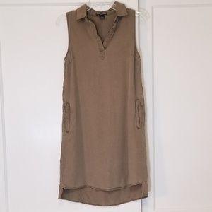 Chelsea & Theodore Tencel Shirt Dress